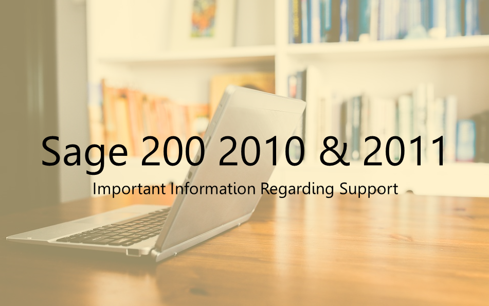 Important Information regarding Sage 200 2010 and 2011